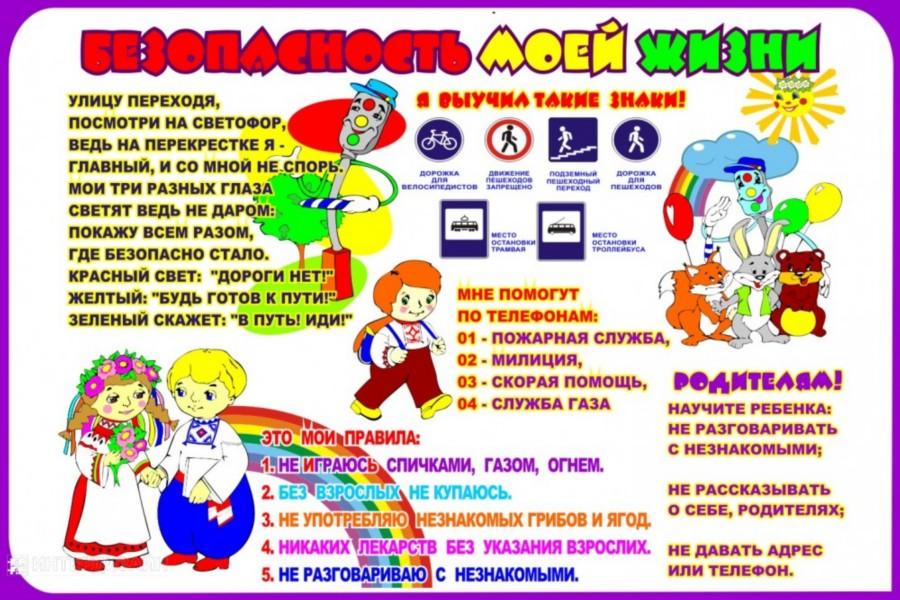 Плакаты по безопасности для детей своими руками 51